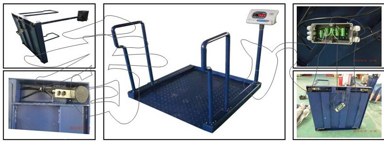 医院透析轮椅秤